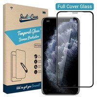 Just in Case Protecteur en verre trempé iPhone 11 - Bords noirs incurvés