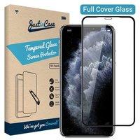 Just in Case Protecteur en verre trempé iPhone 11 Pro Max - Bords noirs incurvés
