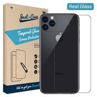 Just in Case Back Cover Protecteur en verre trempé iPhone 11 Pro Max - Dureté 9H