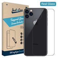 Just in Case Back Cover Protecteur en verre trempé iPhone 11 Pro - Dureté 9H