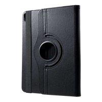 Just in Case Housse en cuir rotative à 360 degrés pour iPad Pro 11 pouces 2018 Hoes - Protection noire