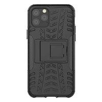 Coque iPhone 11 Pro robuste en polycarbonate TPU hybride Just in Case - Noir Standard