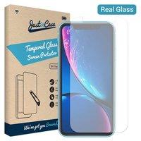 Just in Case Protecteur en verre trempé Apple iPhone XR - Dureté 9H
