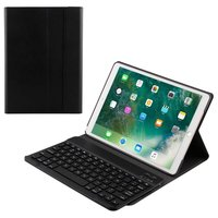 Just in Case Coque clavier Bluetooth AZERTY Premium pour Apple iPad Air 3 2019 10.5 - Noire