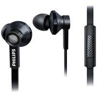 Écouteurs intra-auriculaires Philips TX1BK - Câble plat noir