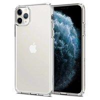 Coque iPhone 11 Pro Max Spigen Liquid Crystal TPU Polycarbonate - Transparente