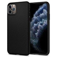 Coque iPhone 11 Pro Max Spigen Liquid Air TPU - Triangle noir