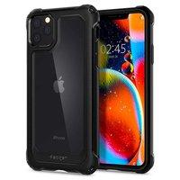 Coque iPhone 11 Pro Spigen Gauntlet Hybrid TPU Plastic - Protection Noire