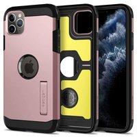 Coque iPhone 11 Pro Spigen Tough Armor XP - Protection 3 couches Or Rose