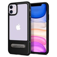 Coque iPhone 11 Spigen Slim Armor Essential TPU Polycarbonate - Noire