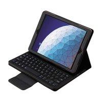 Just in Case Étui pour clavier Bluetooth Apple iPad Air 3 10,5 pouces 2019 - Noir