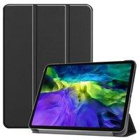 Just in Case Housse Smart Tri-fold en cuir avec étui iPad Pro 11 pouces 2018 - Noir