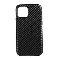 Coque en carbone pour iPhone 12 et iPhone 12 Pro - noire