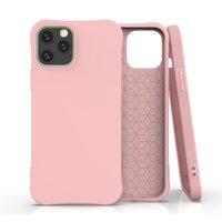 Coque souple TPU pour iPhone 12 et iPhone 12 Pro - rose
