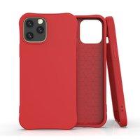 Coque souple en TPU pour iPhone 12 Pro Max - rouge