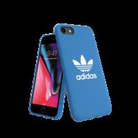 Coque en adidas Originals pour iPhone 6, 6s, 7, 8 et SE 2020 - Bleu avec Blanc