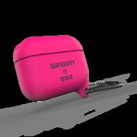 Superdry Airpod Cover Étui en silicone étanche Airpods Pro - Rose