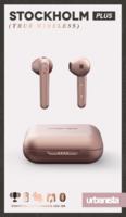 Écouteurs intra-auriculaires Urbanista Stockholm Plus avec étui de chargement - Or rose