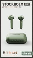 Écouteurs intra-auriculaires Urbanista Stockholm Plus avec étui de chargement - Vert olive