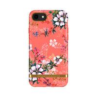 Coque Florale Richmond & Finch Coral Dreams pour iPhone 6, 6s, 7, 8 et SE 2020 - Orange
