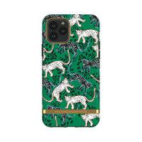 Étui en robuste Richmond & Finch Green Leopards pour iPhone 11 Pro - Vert