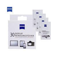 Lingettes nettoyantes pour écrans Zeiss - 30 pièces Blanc
