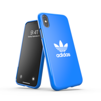 Coque en adidas Originals pour iPhone X et iPhone XS - Bleu