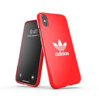 Coque en adidas Originals pour iPhone X et iPhone XS - rouge