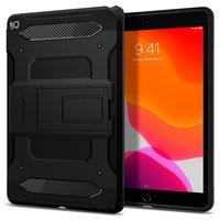 Étui Spigen Tough Armor Plastic Carbon Air Cushion pour iPad 10.2 Pouces (2020) - Noir