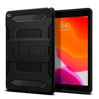 Coque Spigen Tough Armor Carbon avec Air Cushion Technology pour iPad 10,2 Pouces (2020) - Noire
