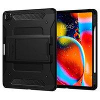 Housse de coussin d'air Spigen Tough Armor Carbon pour iPad Pro 11 pouces (2020) - Noire