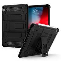 Spigen Tough Armor Carbone Avec Housse De Coussin D'air pour iPad Pro 11 Pouces (2020) - Noir