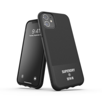 Coque en Canvas Superdry Molded Case pour iPhone 11 - Noire