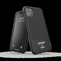 Coque en Canvas Superdry Molded Case pour iPhone 11 Pro Max - Noire