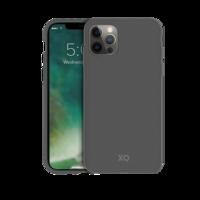 Coque Biodégradable et Anti Bactérienne Xqisit Eco Flex pour iPhone 12 Pro Max - Gris