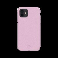 Coque Biodégradable et Anti Bactérienne Xqisit Eco Flex pour iPhone 12 mini - Rose