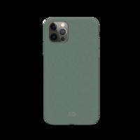 Coque Anti Bactérienne Dégradable Bio Xqisit Eco Flex pour iPhone 12 et iPhone 12 Pro - Vert