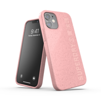 Coque en Superdry Snap Case Compostable Materials pour iPhone 12 mini - Rose