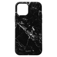 Coque en LAUT Huex pour iPhone 12 mini - marbre noir