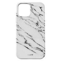 Coque en LAUT Huex pour iPhone 12 et iPhone 12 Pro - marbre blanc