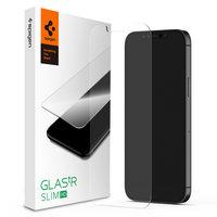 Spigen Glassprotector iPhone 12 Pro Max - Protection contre la dureté 9H