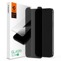 Spigen Glass protector Revêtement de confidentialité iPhone 12 Pro Max - Protection