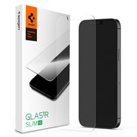Spigen Glassprotector iPhone 12 et 12 Pro - Protection sans rayures