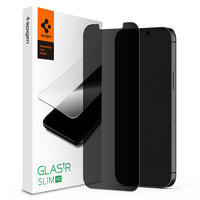 Spigen Glassprotector Privacy Coating iPhone 12 et 12 Pro - Protection