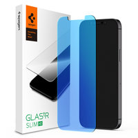 Spigen Glass Protector Anti Blue Light iPhone 12 et 12 Pro - Protection