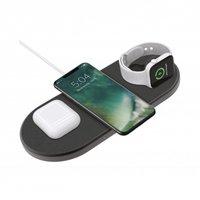 Station de recharge sans fil XQISIT avec chargeur Apple Watch Qi - 3 points de charge