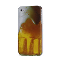 Étui rigide en verre pour bière iPhone 4 4s
