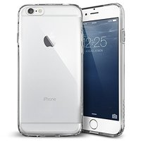Coque en TPU transparent pour coque transparente iPhone 6 6s