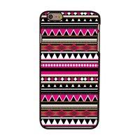 Coque Motif d'Indien pour iPhone 6 Plus 6s Plus - Étui rigide de style Tribal Tribal Aztèque