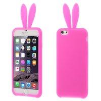 Étui lapin coque en silicone rose lapin iphone 6 Plus 6s Plus
